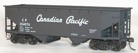 Accurail 50-Ton Offset-Side Twin Hopper Kit Canadian Pacific HO Scale Model Train Freight Car #7710