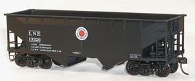 Accurail 50-Ton Offset-Side Twin Hopper Kit Lehigh & New England HO Scale Model Train Freight Car #7719