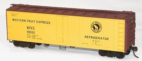 Accurail 40 Steel Reefer w/Hinged Door Kit Great Northern WFEX HO Scale Model Train Freight Car #83021