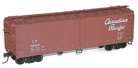 Accurail 40 Steel Reefer w/Hinged Door Kit Canadian Pacific HO Scale Model Train Freight Car #8312