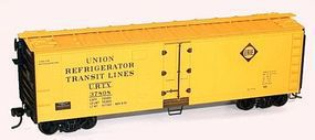 Accurail 40 Steel Reefer w/Hinged Door Kit Erie URTX #37824 HO Scale Model Train Freight Car #8313