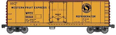 Accurail 40' Steel Reefer w/Plug Doors Kit Great Northern WFEX -- HO Scale Model Train Freight Car -- #85051