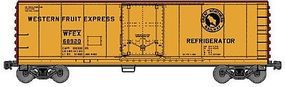 Accurail 40 Steel Reefer w/Plug Doors Kit Great Northern WFEX HO Scale Model Train Freight Car #85051