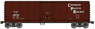 Accurail Plug Door 40' Steel Reefer Canadian Pacific -- N Scale Model Train Freight Car -- #8518