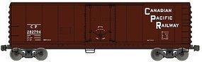 Accurail Plug Door 40 Steel Reefer Canadian Pacific N Scale Model Train Freight Car #8518