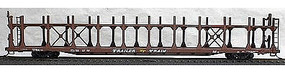 Accurail Bi-Level Open Auto Rack - TTX Data Only (Mineral Red) HO Scale Model Train Freight Car #9298