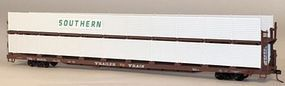 Accurail 89 Partially Enclosed Bi-level Auto Rack Kit Southern HO Scale Model Train Freight Car #9410