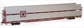 Accurail 89 Partially Enclosed Bi-level Auto Rack Kit NP HO Scale Model Train Freight Car #9411