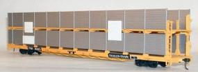 Accurail 89 Bi-Level Partially-Enclosed Auto Rack Data Only TTX HO Scale Model Train Freight Car #9495