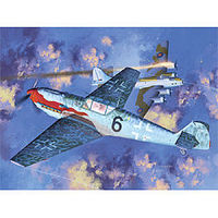 Academy Messerschmitt Bf109T2 Fighter (Ltd Edition) Plastic Model Airplane Kit 1/48 Scale #12225