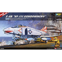 Academy F-4B VF-111 Sundowners (MCP) Plastic Model Airplane Kit 1/48 Scale #12232