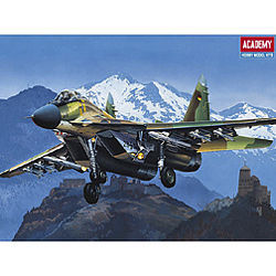 Academy Plastics USSR MiG-29A Fulcrum -- Plastic Model Airplane Kit -- 1/48 Scale -- #12263
