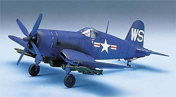Academy Plastics F-4UB CORSAIR -- Plastic Model Airplane Kit -- 1/48 Scale -- #12267