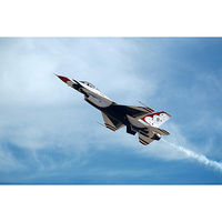 Academy F16C Thunderbirds 2009/2010 Aircraft Plastic Model Airplane Kit 1/72 Scale #12429