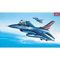 Academy GD YF16A Falcon USAF Fighter Plastic Model Airplane Kit 1/72 Scale #12444