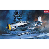 Academy TBF1 Avenger US Bomber Plastic Model Airplane Kit 1/72 Scale #12452
