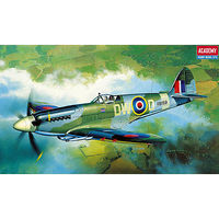 Academy Spitfire Mk.XIV-C Plastic Model Airplane Kit 1/72 Scale #12484
