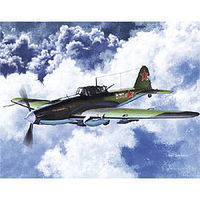 Academy IL2M Stormovik Fighter Plastic Model Airplane Kit 1/72 Scale #12510