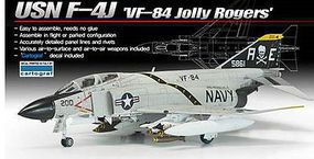 Academy F-4J VF-84 Jolly Rogers Plastic Model Airplane Kit 1/72 Scale #12529