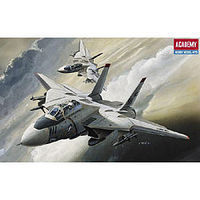 Academy F-14 Tomcat Plastic Model Airplane Kit 1/144 Scale #12608