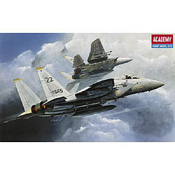 Academy Plastics F-15 Eagle -- Plastic Model Airplane Kit -- 1/144 Scale -- #12609