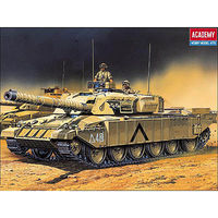 Academy Challenger Battle Tank with Motor Motorized Plastic Model Vehicle Kit 1/48 Scale #1303