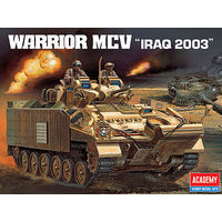 Academy Warrior MCV Iraq 2003 Combat Vehicle Plastic Model Military Vehicle Kit 1/35 #13201