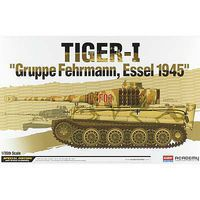 Academy Tiger-I Gruppe Fehrmann Essel 1945 Plastic Model Military Vehicle Kit 1/35 Scale #13299