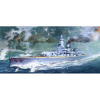 Academy Graf Spee Pocket Battleship Plastic Model Battleship Kit 1/350 Scale #14103
