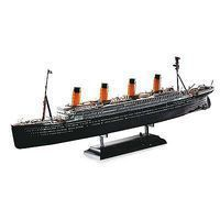 Academy R.M.S. Titanic with Led Set Plastic Model Commercial Ship Kit 1/700 Scale #14220