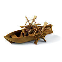 Academy DaVinci Paddleboat Science Engineering Kit #18130