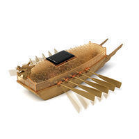 Academy Solar Powered Turtle Ship (Approx. 6 L) (Snap)