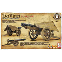 Academy DaVinci Spingarde Field Artillery Gun Science Engineering Kit #18142
