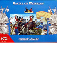 Accurate-Figures British Cavalry Waterloo Plastic Model Military Figure 1/72 Scale #7210