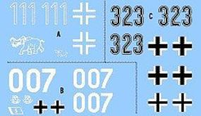 Archer Tiger Mix #2- Leningrad 1st, Normandy Mid, Kursk Army Mid Plastic Model Decal 1/72 #74005