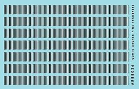 Archer Surface Details 14 Railroad Louvers O Scale Model Railroad Decal #88036