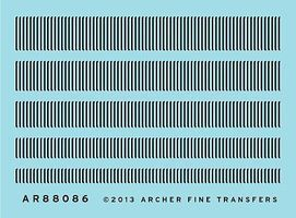 Archer Surface Details Railroad Louver Mix O Scale Model Railroad Decal #88086