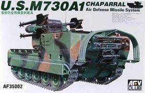 AFVClub US M730A1 Chaparral Plastic Model Military Vehicle Kit 1/35 Scale #35002