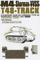 AFVClub T48 Track Links Plastic Model Tank Tracks 1/35 Scale #35038