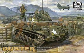 AFVClub M42A1 Duster Late Tank Plastic Model Tank Kit 1/35 Scale #35042