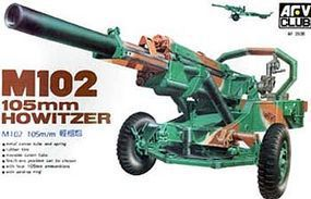 AFVClub M102 105mm Howitzer Gun Plastic Model Artillery Kit 1/35 Scale #3506