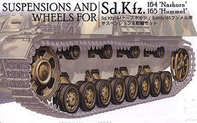 AFVClub WHEELS & SUSPENSION PANZER IV Plastic Model Tank Accessory 1/35 Scale #35194