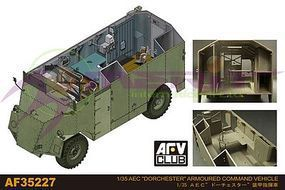 AFVClub AEC Dorchester Armored Command Vehicle (New Tool) Plastic Model Command Vehicle 1/35 #35227