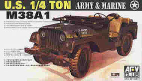 AFVClub US M38A1C 1/4-Ton Jeep Plastic Model Military Jeep Kit 1/35 Scale #35s17