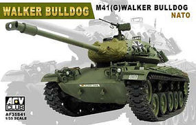 AFVClub Walker Bulldog M41(G) NATO Tank Plastic Model Tank Kit 1/35 Scale #35s41