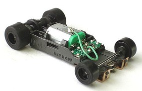 AFX Mega G+ Rolling Chassis Long HO Scale Slot Car Part #21023