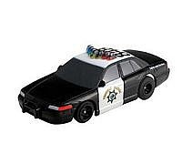 AFX Highway Patrol #848 -- HO Scale Slotcar Car -- #21034