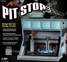 AFX HO Pit Stop Holographic Theater