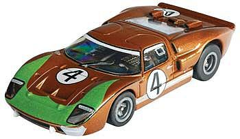 AFX HO Ford GT40 #4 LeMans (Donohue) Mega-G Collectors -- HO Scale Slotcar Car -- #70340