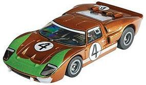 AFX HO Ford GT40 #4 LeMans (Donohue) Mega-G Collectors HO Scale Slotcar Car #70340